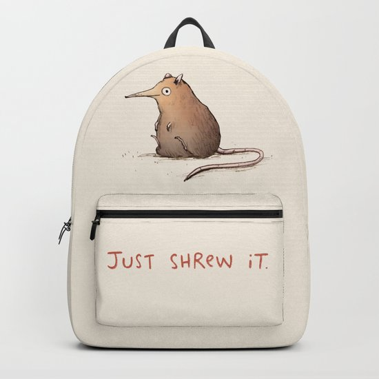 Just Shrew It Backpack