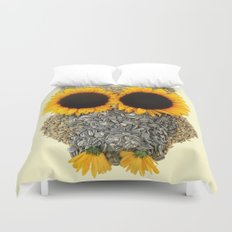 Hoot! Day Owl! Duvet Cover