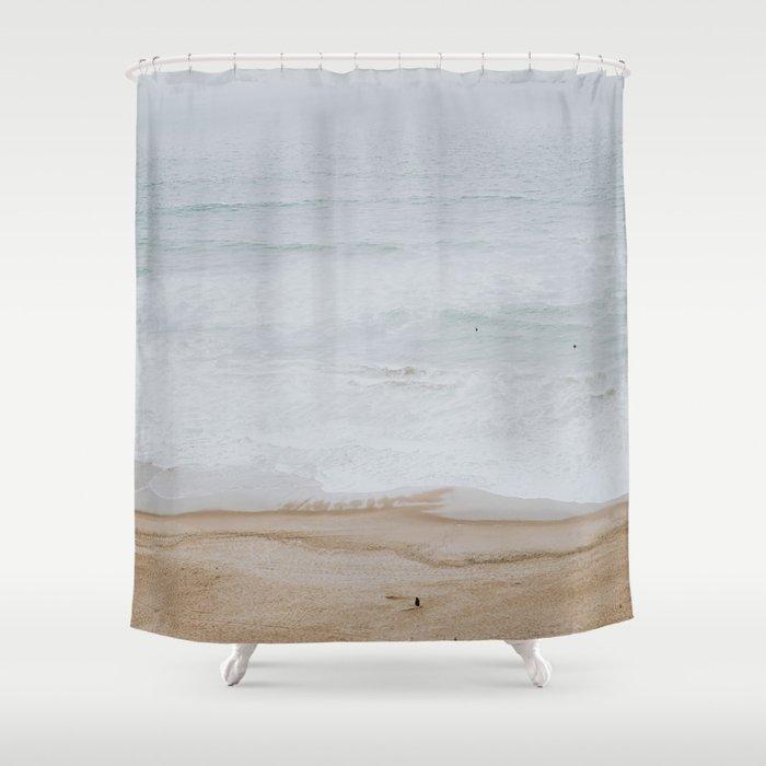Seashore Iii California Shower Curtain By Mauikauai