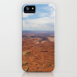 Unedited Canyonlands National Park, Utah  iPhone Case