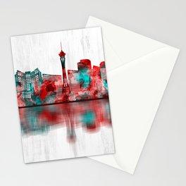 Las Vegas Nevada Skyline Stationery Cards