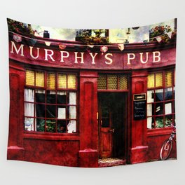 Murphys Pub, Dingle Wall Tapestry