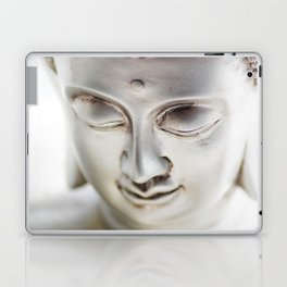 Silver Buddha head Laptop & iPad Skin