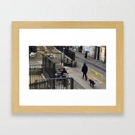simple socket status solitude Framed Art Print