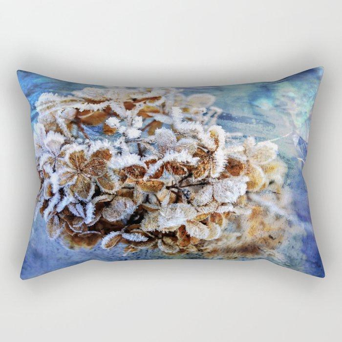 Frozen Poetry Rectangular Pillow