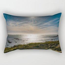 Sunstar Ano Nuevo State Reserve California Coast Rectangular Pillow