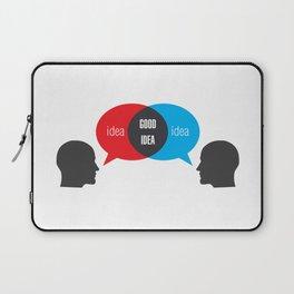 Idea+Idea=Good Idea Laptop Sleeve