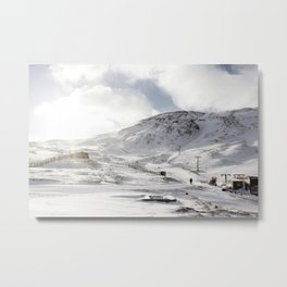 Glencoe mountains Metal Print