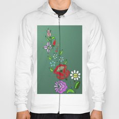 Folk Flowers 2 Hoody