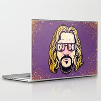 the dude Laptop & iPad Skins featuring Dude by Beery Method
