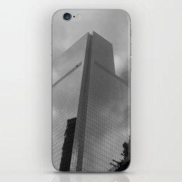 New York in grey iPhone Skin