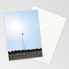 Roof Flower Stationery Cards