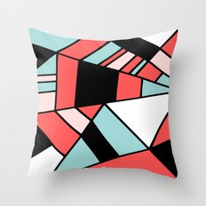 Abstract #451 Throw Pillow