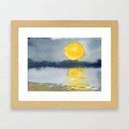 Impossible Sunset Framed Art Print
