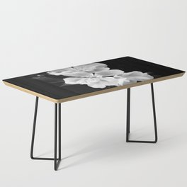 geranium in bw Coffee Table
