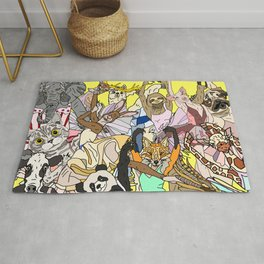 Party Animals Rug