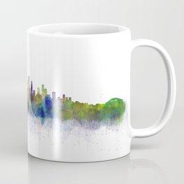 Los Angeles City Skyline HQ v3 Coffee Mug