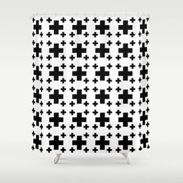 Jerusalem Cross 2 Shower Curtain