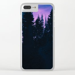 0423 Clear iPhone Case