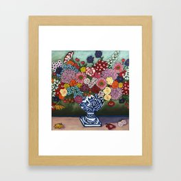 Amsterdam Flowers Framed Art Print