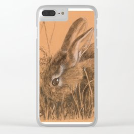 bunny rabbit Clear iPhone Case