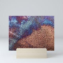 Copper Sand Mini Art Print