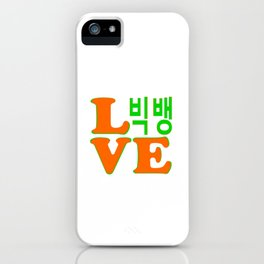 Love Awesome KPop Band BigBang iPhone Case