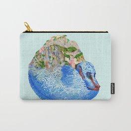 Cinque Terre Landscape Dragon Carry-All Pouch