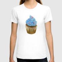 "cupcake T-shirts featuring ""Cupcake"" by Allana Vazquez"