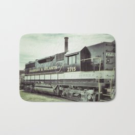 Savannah Railroad Bath Mat