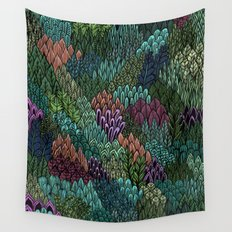 July Leaves Wall Tapestry