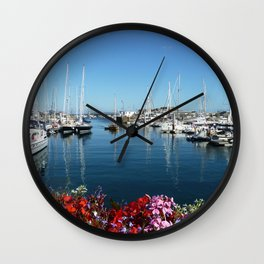 St Peter Port Harbour Wall Clock