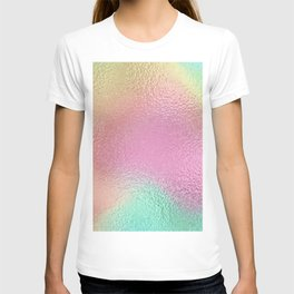 Simply Metallic in Iridescent Rainbow T-shirt