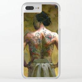 Yakuza Clear iPhone Case