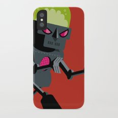Robot iPhone X Slim Case