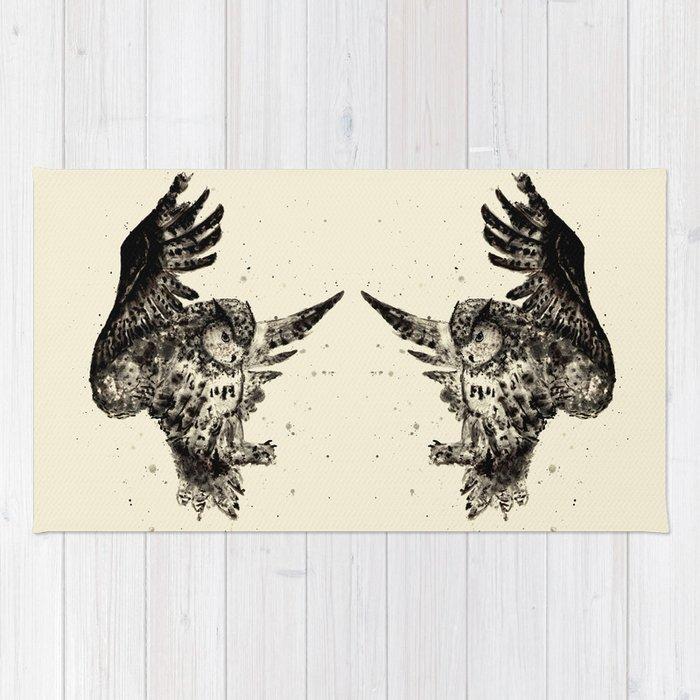 Owl Ink Rug