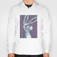 bunny Hoodies featuring Bunny by makoshark