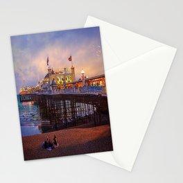 Brighton Pier Twilight Stationery Cards
