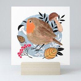 Robin Mini Art Print