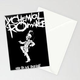 my chemical romance parade originally Stationery Cards