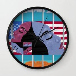 Fibonacci Sisters Wall Clock