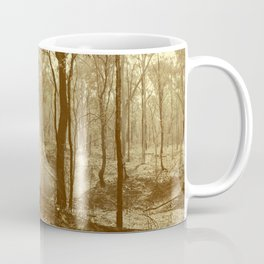 Stunning view of bushfire aftermath Coffee Mug