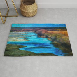 Monet's Rio Las Cruces New Mexico Rug