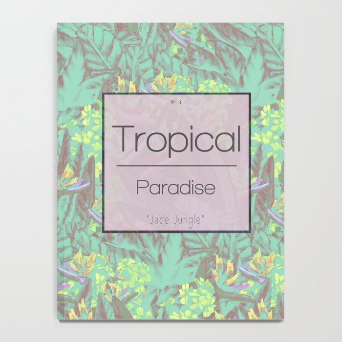 Tropical Paradise: Jade Jungle Notebook