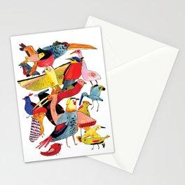 Bird Group Stationery Cards