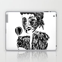 Billie Holiday Laptop & iPad Skin