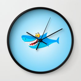 Great White(ish) Wall Clock