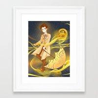 sandman Framed Art Prints featuring sandman by sherryandgin