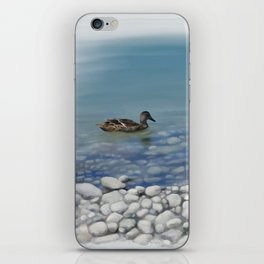 Clear water iPhone Skin