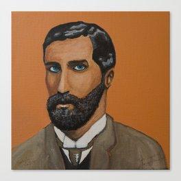 Orange Roger Canvas Print